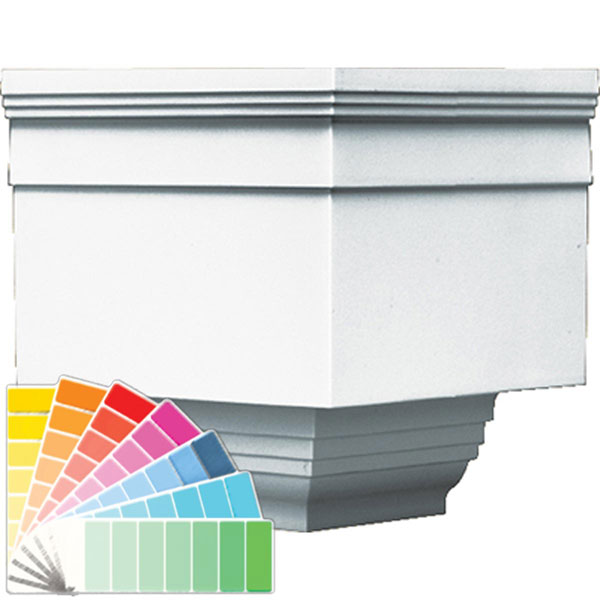 Exterior Vinyl Crown Moulding 39